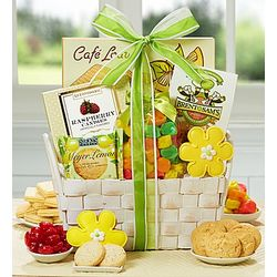 Sunflower Fields Gift Basket