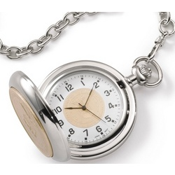 Air Force Coin Pocket Watch