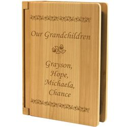 Grandparent's Wood Brag Book