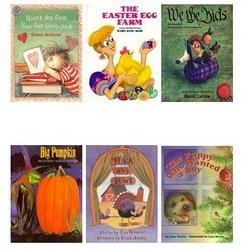 Kids Holiday 6 Month Book Club with Lollipop