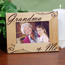 Grandma and Me Personalized Frame