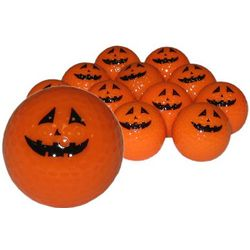 Pumpkin Golf Balls