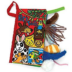 Pet Tails Plush Book