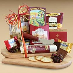 Classic Gourmet Cheese & Snack Board