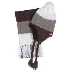Crush Stripes Hat & Scarf Set