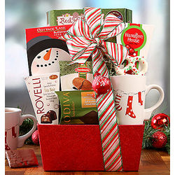 Cocoa and Sweets Assortment Gift Basket