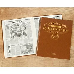 Washington Post Philadelphia Eagles Fan Personalized Team Book