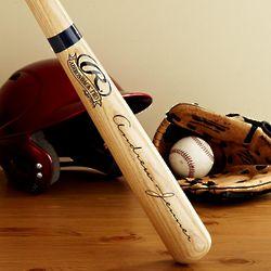 Personalized Engraved Youth-Sized Baseball Bat