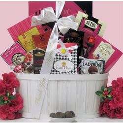 Sweet and Trendy Administrative Professionals Day Gift Basket