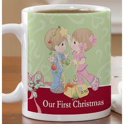 Precious Moments Personalized First Christmas Coffee Mug