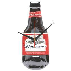 Budweiser Recycled Bottle Clock