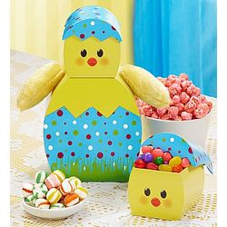 Happy Easter Baby Chick Gift Tower