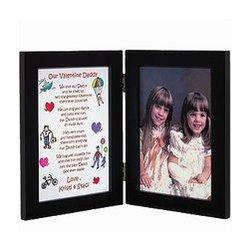 Personalized Daddy Valentine Print and Bi-Fold Frame