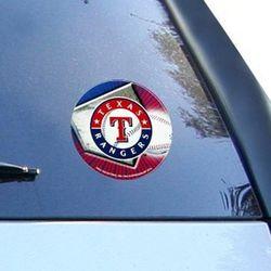 Texas Rangers Team Logo Round Vinyl Decal