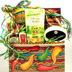 Spicy Gourmet Food Gift Basket