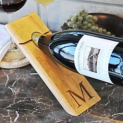 Counter Balance Wine Bottle Holder