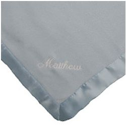 Personalized Satin Lined Baby Blanket