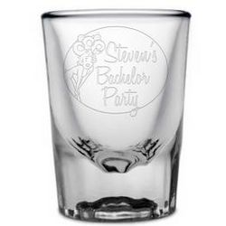 Personalized Bachelor Party Shot Glass