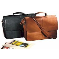 Vaqueta Napa Leather Laptop Briefcase
