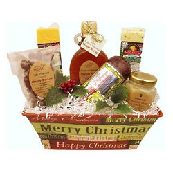 Classic Wisconsin Christmas Gift Basket
