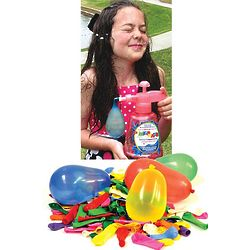 Water Balloon Pumponator with 500 Balloons and Ties