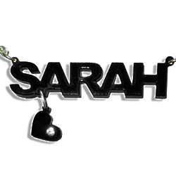 Personalized Acrylic Name Necklace