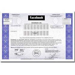 Facebook Stock Share