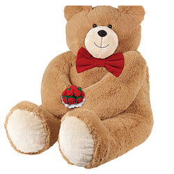 Giant Hunka Romance Teddy Bear