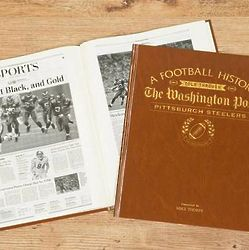 Washington Post Pittsburgh Steelers Personalized Book