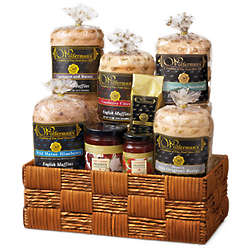 Favorite Breakfast Flavors Gift Basket Deluxe