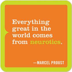 Everything Neurotics Inner-Truth Refrigerator Magnet