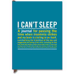 I Can't Sleep Guided Journal