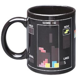 Tetris Heat-Sensitive Gaming Mug