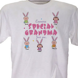 Eggstra Special Personalized Easter T-Shirt