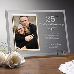Years Together Anniversary Personalized Picture Frame