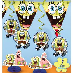 SpongeBob SquarePants Decoration Kit