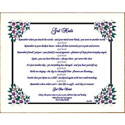 'God Heals' Inspirational Poem