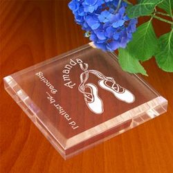 Personalized Ballet Keepsake & Paperweight