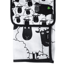 Black And White Sheep Kitchen Towel And Pot Holder