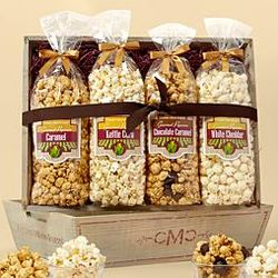 Gourmet Popcorn Crate - 4 Flavor Mix