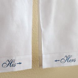 His and Hers Guest Towels