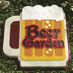 Beer Garden Stepping Stone