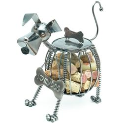 Bordeaux Collie Wine Cork Cage
