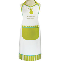 Perfect Pear Personalized Chic Apron