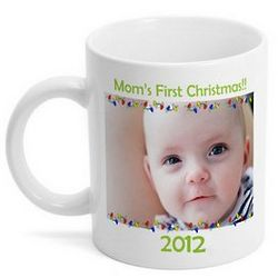 Christmas Lights Photo Coffee Mug