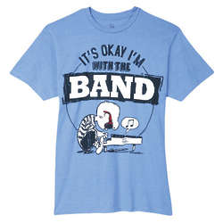 Peanuts I'm With the Band T-Shirt