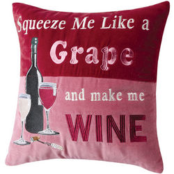 Squeeze Me Wine Pillow