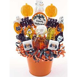 Happy Halloween Lollipop Bouquet
