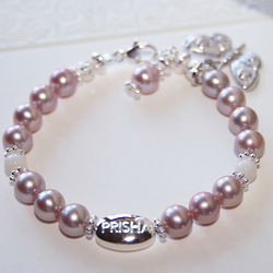 Victorian Grow-With-Me Freshwater Pearl Bracelet