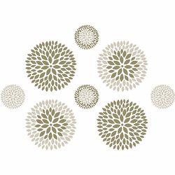 Chrysanthemum Wall Decal Kit
